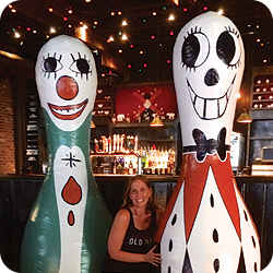 Brooklyn Bowl Inflatable Pins