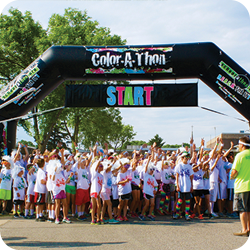 Color-A-Thon Arch
