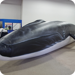 Inflatable Finback Whale