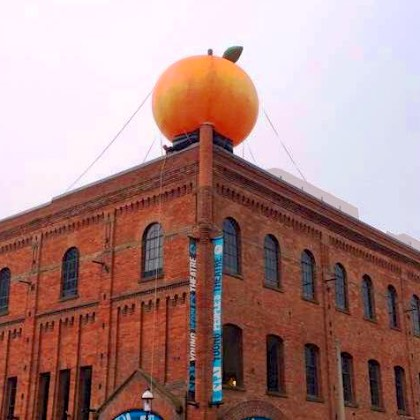 Giant Peach Theater Square