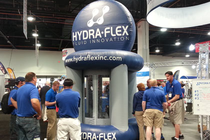 hydraflex cash booth