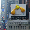 Tweety Bird Inflatable Billboard in Times Square