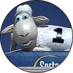 Inflatable Serta Sheep Mascot