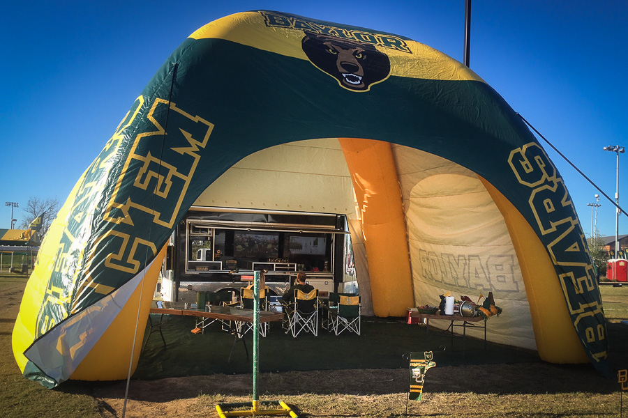 L5286 Baylor Tailgate Tent