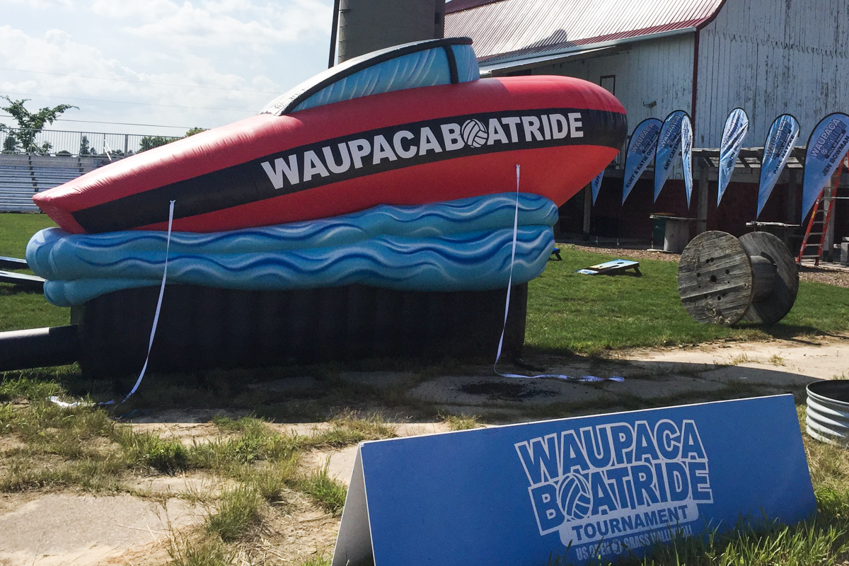 L5614 Waupaca Inflatable Boat
